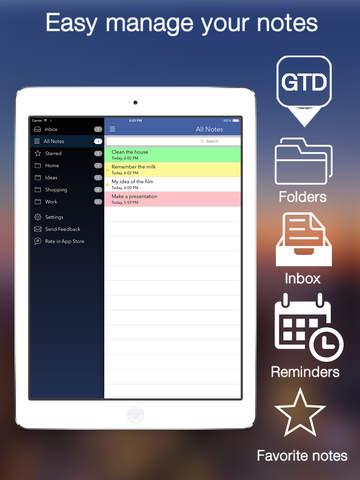 Notes Note-Ify iPad
