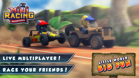 Mini Racing Adventures iPhone iPad