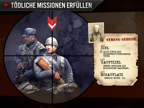 Frontline Commando: WW2 Shooter iOS Screenshots