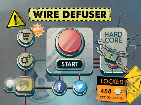 Wire Defuser iOS Screenshots