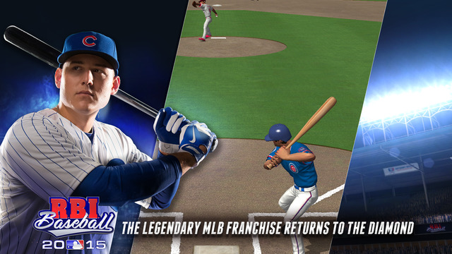 R.B.I. Baseball 15 iPhone iPad
