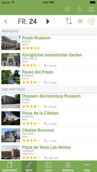 Madrid Reiseführer (mit Offline Stadtplan) - mTrip Screenshots