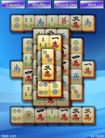 Mahjong Tiles iPhone