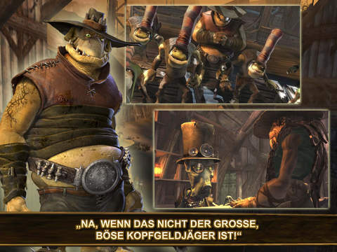 Oddworld: Stranger's Wrath iPhone iPad