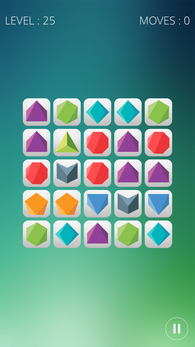 Puzzledrome - ein palindromisches Puzzlespiel iOS Screenshots