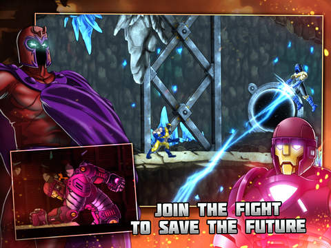 Uncanny X-Men: Days of Future Past iPhone iPad