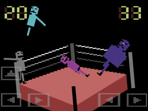 Wrassling iOS Screenshots