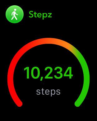 Stepz - Schrittzähler & Pedometer Screenshot