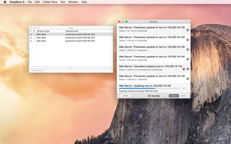 DropSync 3 Screenshot - 4