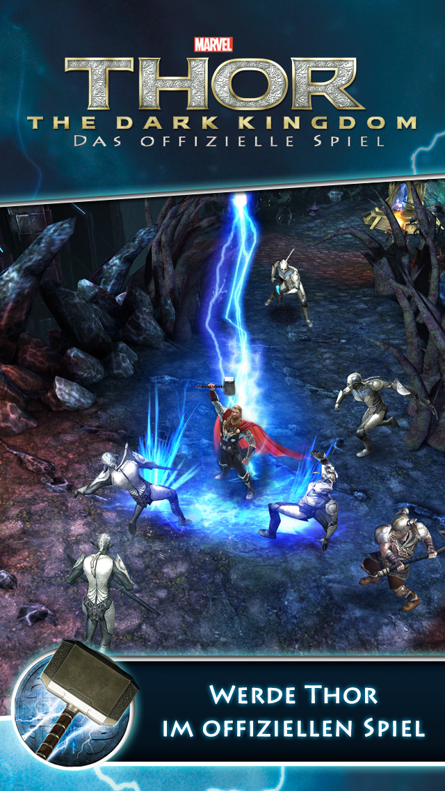 Thor: The Dark Kingdom - Das offizielle Spiel iOS Screenshots
