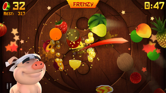 Screenshot 4 Fruit Ninja Classic