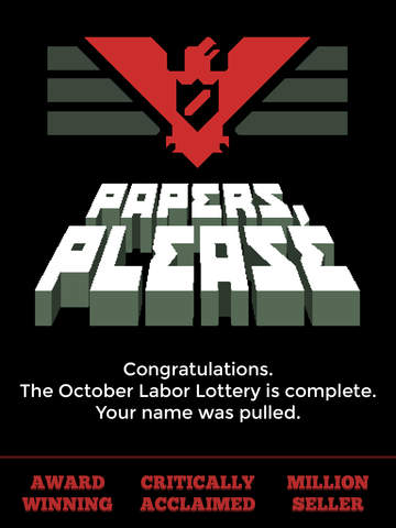 Papers, Please iOS Screenshots