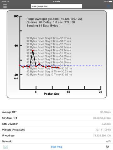 Net Master HD - IT Tools & LAN Scanner Screenshot