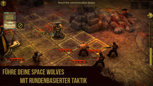 Warhammer 40,000: Space Wolf iOS