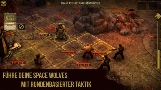 Warhammer 40,000: Space Wolf iOS