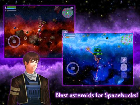Space Miner: Platinum Edition iOS Screenshots
