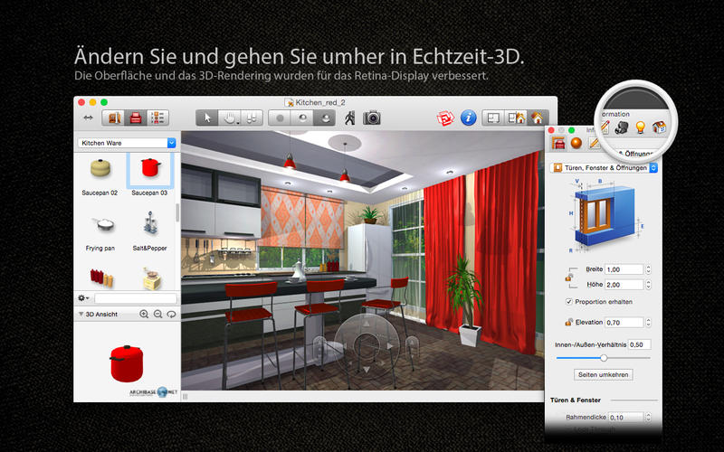 Sweet Home 3d Fußboden Erstellen ~ Live interior d pro edition bei belight software ltd