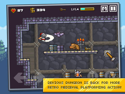Devious Dungeon 2 iOS Screenshots