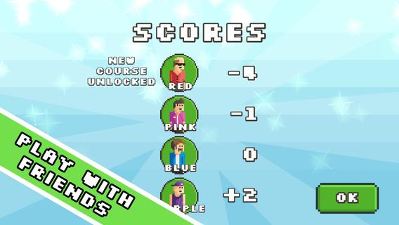 Screenshot 3 Pixel Disc Golf