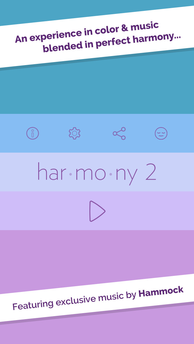Harmonie 2 iOS Screenshots