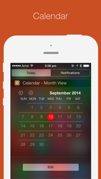 Wdgts - A Collection of Notification Center & Watch Widgets Screenshot