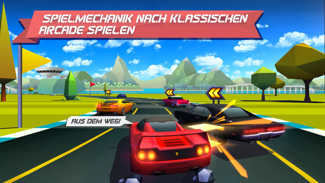 Horizon Chase - World Tour iOS Rennspiel
