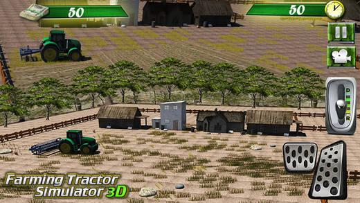 Tracteur Agricole Simulator 3D