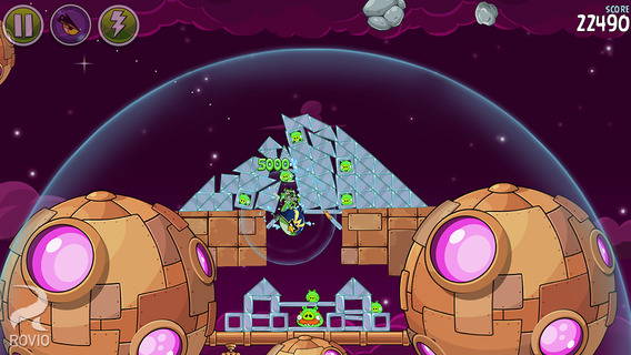 Screenshot 3 Angry Birds Space