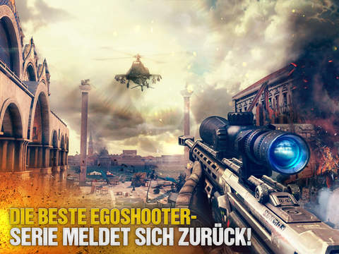 Modern Combat 5 iOS Screenshots