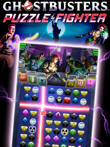 Ghostbusters Puzzle Fighter iPhone
