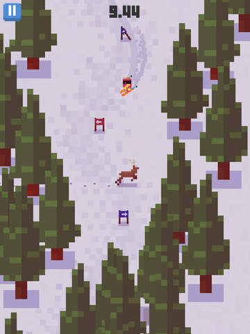 Skiing Yeti Mountain iPad
