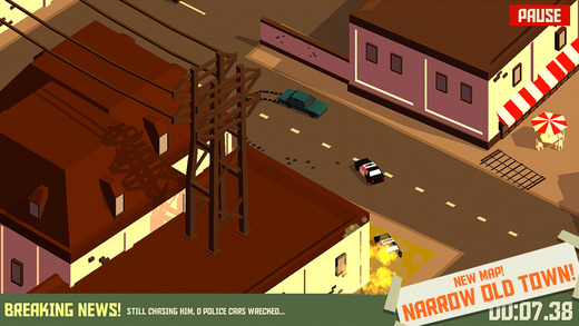 Pako - Car Chase Simulator iPhone iPad