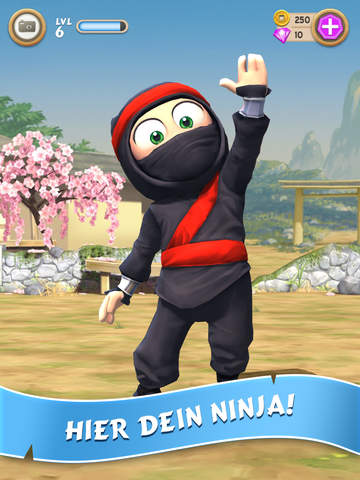Clumsy Ninja iOS Screenshots