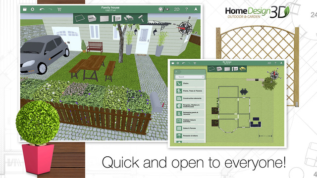 ... Garden Design With Home Design D Outdoor Uamp Garden On The App Store  With Courtyard Gardens