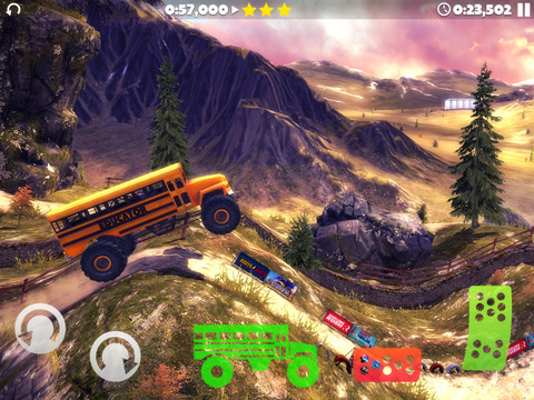 Offroad Legends 2 iOS Screenshots