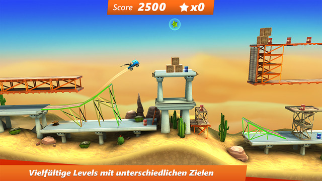 Bridge Constructor Stunts iOS
