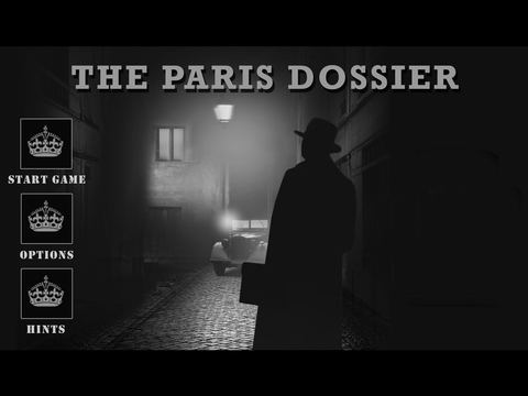 The Paris Dossier iOS Screenshots