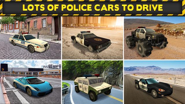 3d police drag racing driving simulator game gratuit jeux de voiture de course ios app. Black Bedroom Furniture Sets. Home Design Ideas