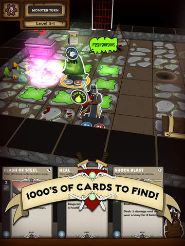 Card Dungeon iPhone iPad