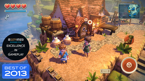 Screenshot 1 Oceanhorn ™
