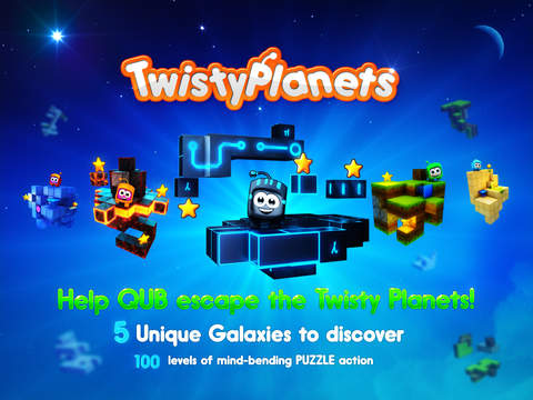 Twisty Planets iOS Screenshots