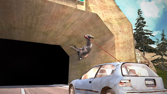 Screenshot 3 Goat Simulator