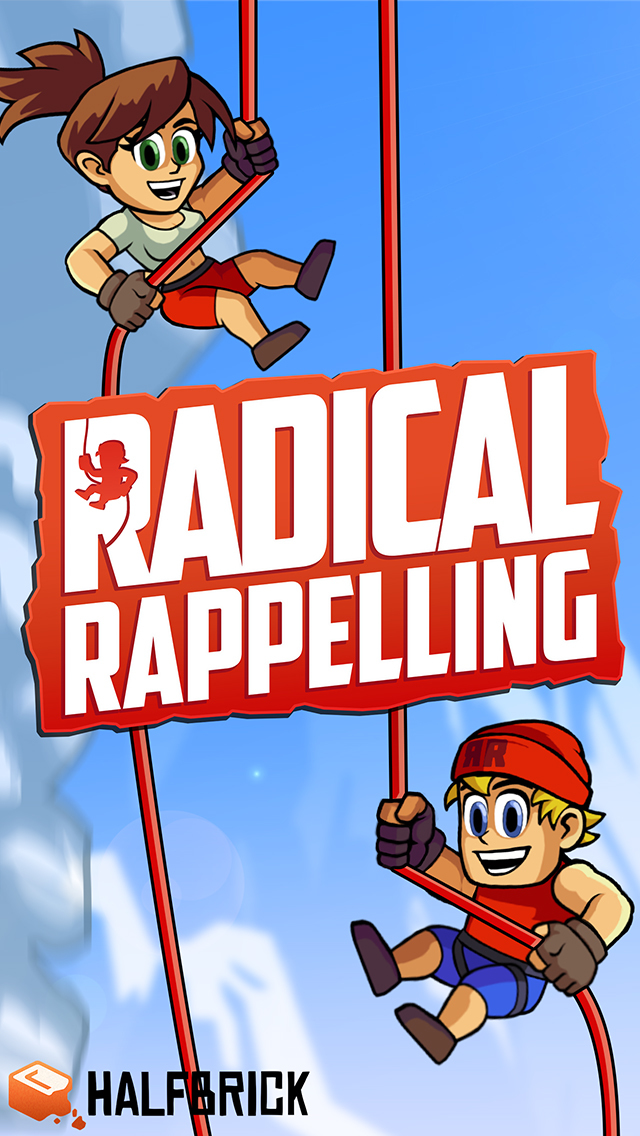 Radical Rappelling iOS Screenshots