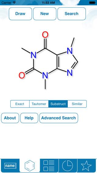 ChemSpider –Koffein.