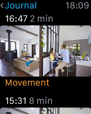Withings Home, All-in-one security camera with air quality sensors Screenshot