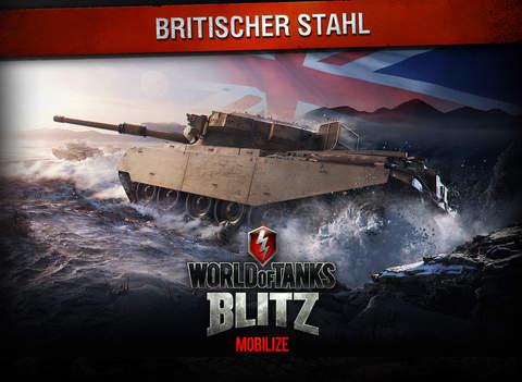 World of Tanks Blitz iOS Screenshots