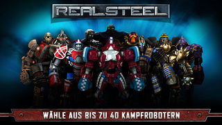 Real Steel iOS Screenshots