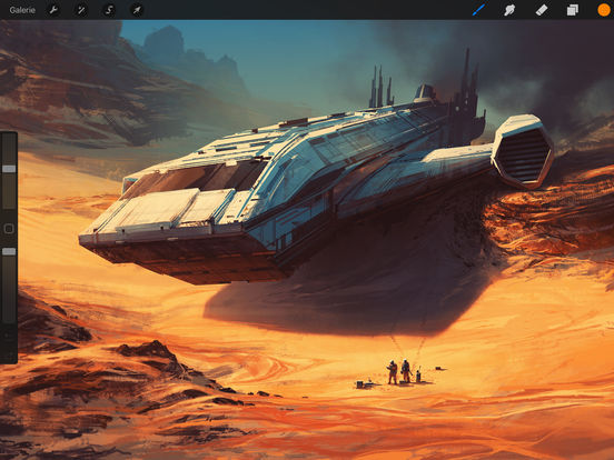 Procreate Screenshots
