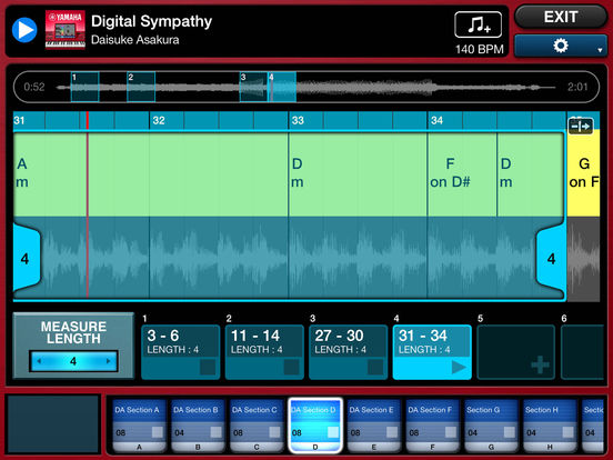 Mobile Music Sequencer Screenshots