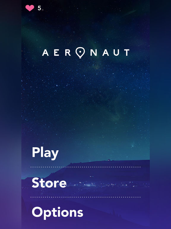 Aeronaut iOS Screenshots